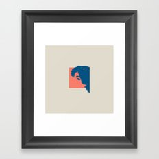 Abschied Framed Art Print