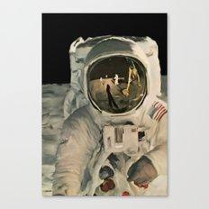 LIFE MAGAZINE: Moon Landing Canvas Print