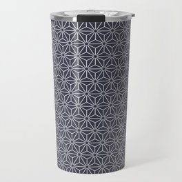 Asanoha Pattern Blue Travel Mug
