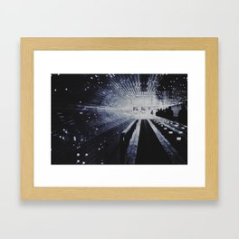 fade to white Framed Art Print