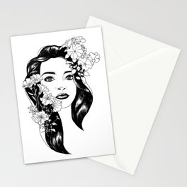 Larisa portret Stationery Cards