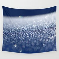 ice Wall Tapestries featuring ICE by Lori Anne Photography