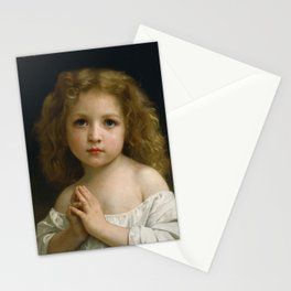 "William-Adolphe Bouguereau ""Little Girl"" Stationery Cards"