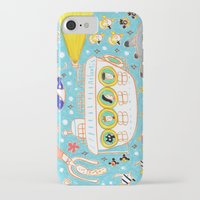 submarine iPhone & iPod Cases featuring submarine by AW illustrations