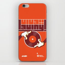 UNDO | Music to the people 13 iPhone Skin