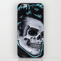 the smiths iPhone & iPod Skins featuring Valuable Time,  Morressey, The Smiths by Paul Brogden