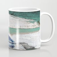 surf Mugs featuring Surf by Bella Blue Photography