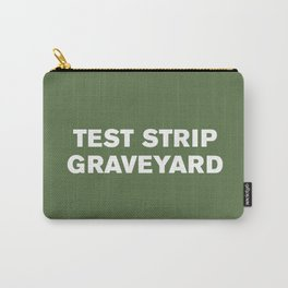 Test Strip Graveyard™ (Kale) Carry-All Pouch
