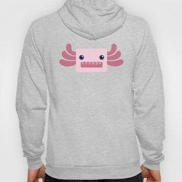Cute Pastel Pink Axolotls Pattern Hoody