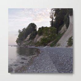 Jasmund Bay - Stone Island of Ruegen Metal Print