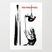 rope a dope Art Print