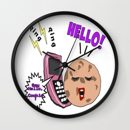 And now, Kim and Cookie Wall Clock