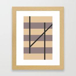 HZ Framed Art Print