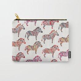 Zebras – Rainbow Palette Carry-All Pouch