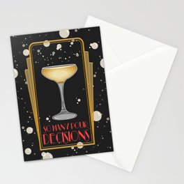 Long Live Champagne Stationery Cards