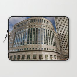 London Photography Canary Wharf Thomson Reuters Laptop Sleeve