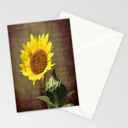 Faithful Sunflower Stationery Cards