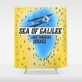 Lake Tiberias The Sea of Galilee Israel Art Print Shower Curtain