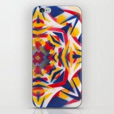 Bluestarredbox iPhone & iPod Skin