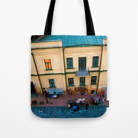 Tote Bags featuring CITY LIFE by Vlad&Lyubov