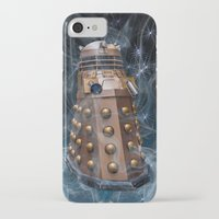 dalek iPhone & iPod Cases featuring Dalek by Steve Purnell