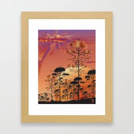Home One Framed Art Print