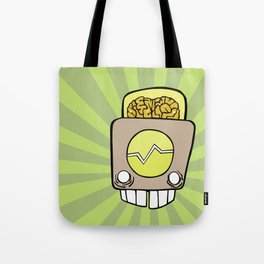 Robot Head One Tote Bag