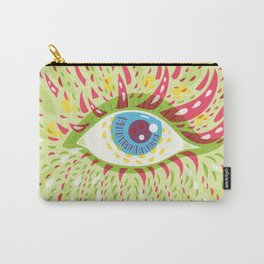 Front Looking Psychedelic Eye Carry-All Pouch
