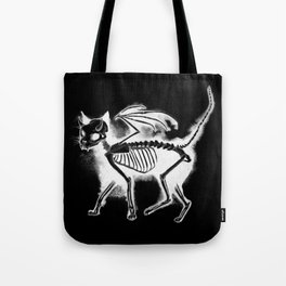 Devil Kitty - inverted Tote Bag