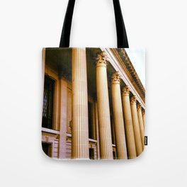 Lovely Columns (Yale, CT) Tote Bag