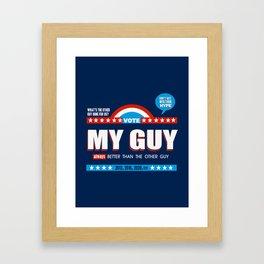 American Debate Framed Art Print