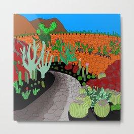 The Cactus Garden (Version 1) Metal Print
