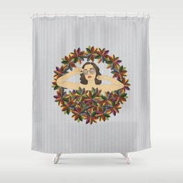Croton Wreath Shower Curtain
