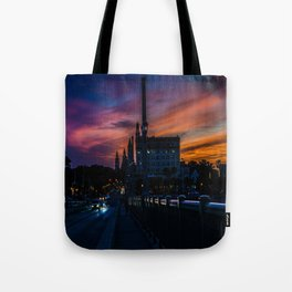 Atomic Augustine Tote Bag
