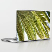 palms Laptop & iPad Skins featuring Palms by Claire Jantzen