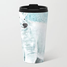 The White Bear Metal Travel Mug