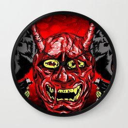 THEY NEVER DIE Wall Clock