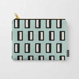 Chad Pattern mint green 2 Carry-All Pouch