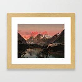 """""""Kongen Dronningen og Bispen Norway"""" Framed Art Print"""