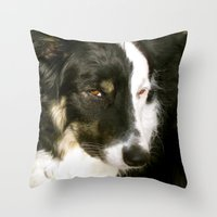 best friend Throw Pillows featuring Best Friend by Layton Zimmages