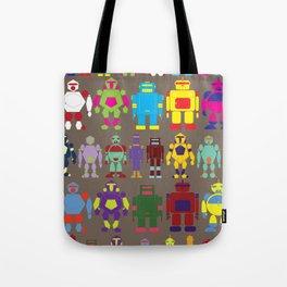 Robot Army Tote Bag