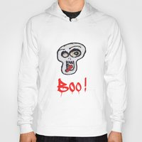 grafitti Hoodies featuring BOO! by LesImagesdeJon