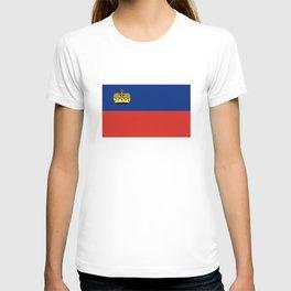 Liechtenstein country flag T-shirt