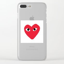 CDG Clear iPhone Case