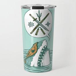 The Ninja Shark Travel Mug