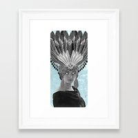 grace Framed Art Prints featuring Grace by Thömas McMahon