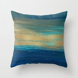 Oil Painting Brush Strokes 3 Throw Pillow