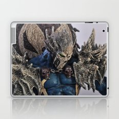 blue Spawn Laptop & iPad Skin