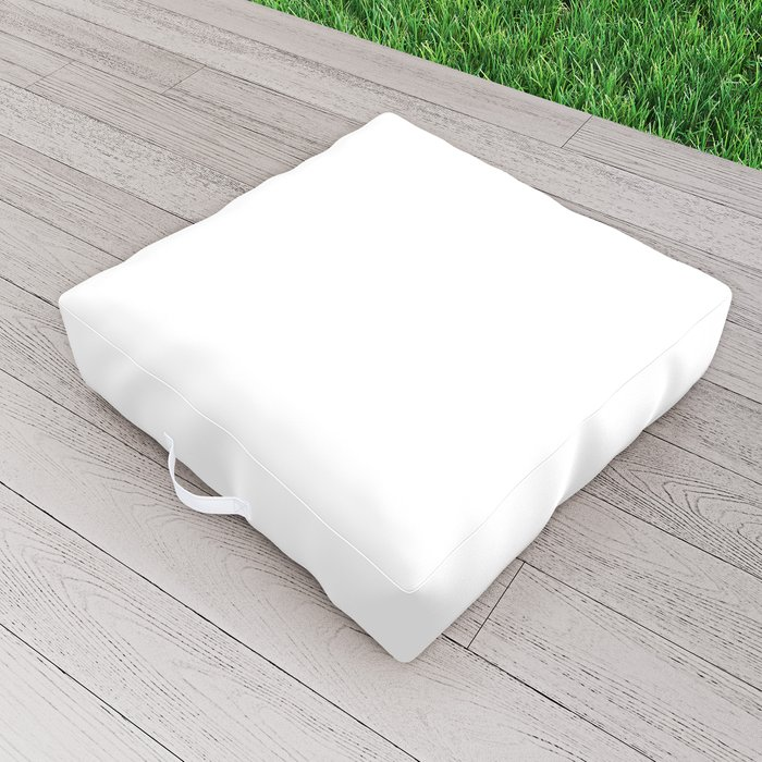 I Play Jazz That's What I Do Appreciation Quote Outdoor Floor Cushion
