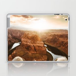 horse shoe bend canyon Laptop & iPad Skin
